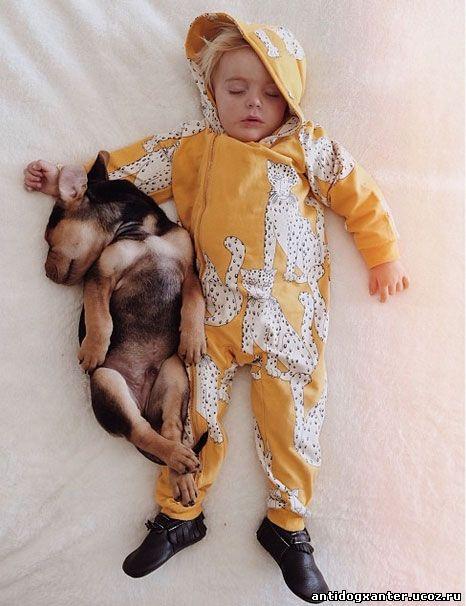 Я практически рыдала от умиления, глядя на то, как спят эти двое