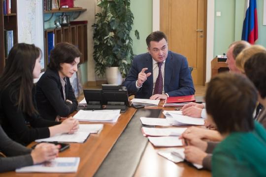 Губернатор Владимир Миклушевский обсудил с зоозащитниками законопроект о бездомных животных (видео)
