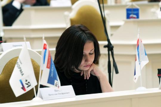 Депутат петербургского ЗакСа Ольга Галкина активно борется за защиту животных