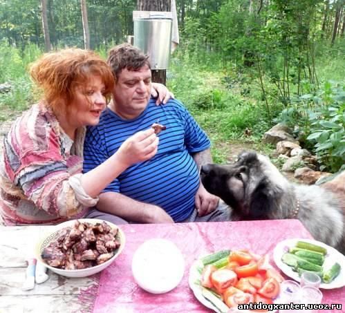 Анастасию и Михаила Муромова от гибели в огне спасла собака.